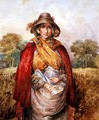 The Peddler Woman - Joshua Cristall