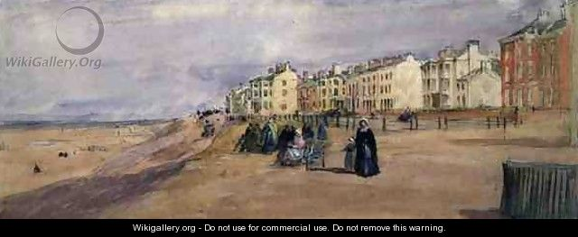The Sea Front at Blackpool - David Cox