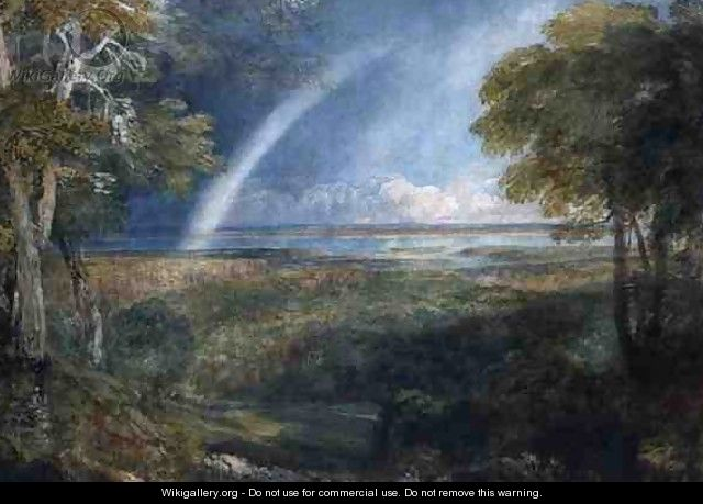 A Rainbow over the Severn - David Cox