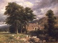The Old Mill at Bettws-y-Coed - David Cox
