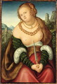 The Death of Lucretia - Lucas (studio of) Cranach