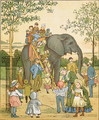Zoological Garden from London Town - Crane, T. (1808-59) and Houghton, E.