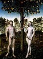 The Fall of Man 1549 - Lucas The Younger Cranach
