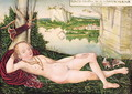 Resting Naiad - Lucas The Younger Cranach