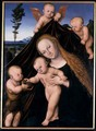 Madonna and Child with John the Baptist, 1534 - Lucas The Younger Cranach