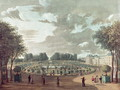 The Luxembourg Gardens - Henri (after) Courvoisier-Voisin