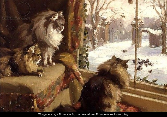 At the Window - Agnes Cowieson