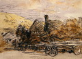 A Timber Wagon - David Cox