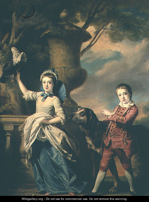 The Children of Sir Edward and Dame Ann Astley, 1767 - Francis Cotes