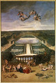 View of the Orangerie at Versailles, from the Piece d
