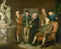 Group of Connoisseurs - Richard Cosway