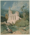 Byland Abbey Yorkshire, c.1809 - John Sell Cotman