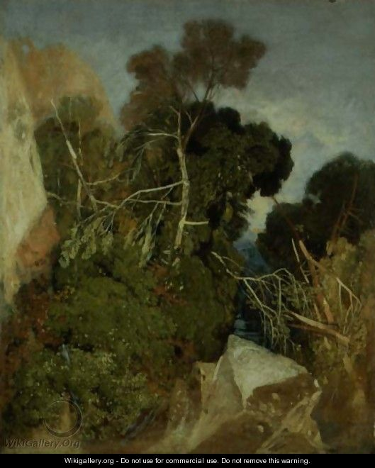 Silver Birches - John Sell Cotman