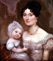 Lady FitzHerbert with one of her youngest children, c.1817 - William the Elder Corden