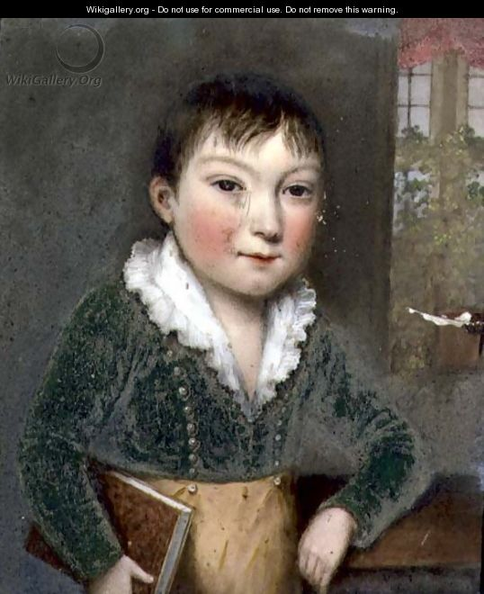 Unknown son from the FitzHerbert family portraits, c.1817 - William the Elder Corden