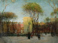 Washington Square, New York, c.1900 - Paul Cornoyer