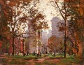 Washington Square, New York 2 - Paul Cornoyer