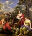 Laban Seeking his Idols - Pietro Da Cortona (Barrettini)