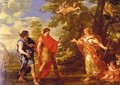 Venus Appearing to Aeneas as a Huntress, c.1635 - Pietro Da Cortona (Barrettini)