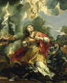 The Vision of St. Barbara - Pietro Da Cortona (Barrettini)