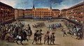 Parade in the Plaza Mayor, Madrid - Juan De La Corte