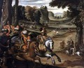 The Lion Hunt - Juan De La Corte