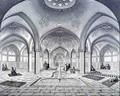Public Baths, in Kashan, from Voyage Pittoresque of Persia - Pascal Xavier (after) Coste