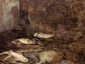 Fish, Skate and Dogfish - Eugène Boudin