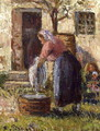 The Laundry Woman - Camille Pissarro