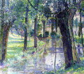 Trees along a Creek - Juliette Wytsman