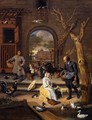 The Poultry Yard - Jan Steen