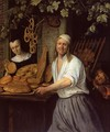The Leiden Baner Arend Oosterwaert and His Wife Catharina Keyzerswaert - Jan Steen