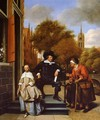 The Burgher of Delft and His Daughter - Jan Steen