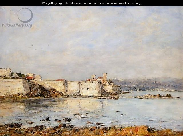 Antibes, the Fortifications - Eugène Boudin