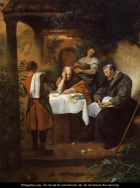 The Supper at Emmaus - Jan Steen