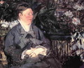 Madame Manet in the Conservatory - Edouard Manet