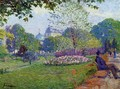 The Parc Monceau - Albert Lebourg