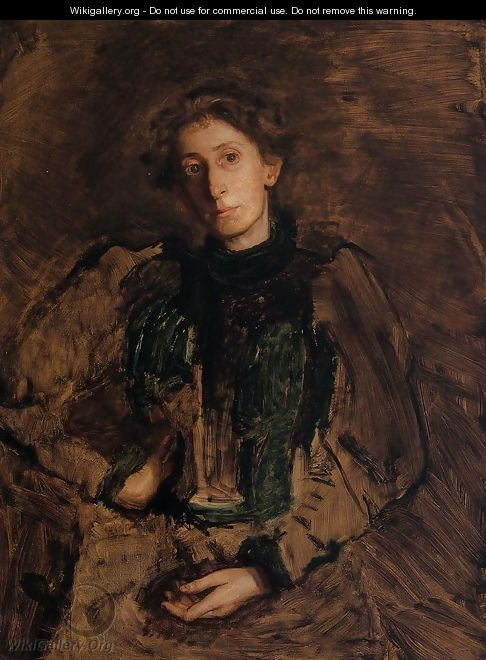 Portrait of Jennie Dean Kershaw - Thomas Cowperthwait Eakins