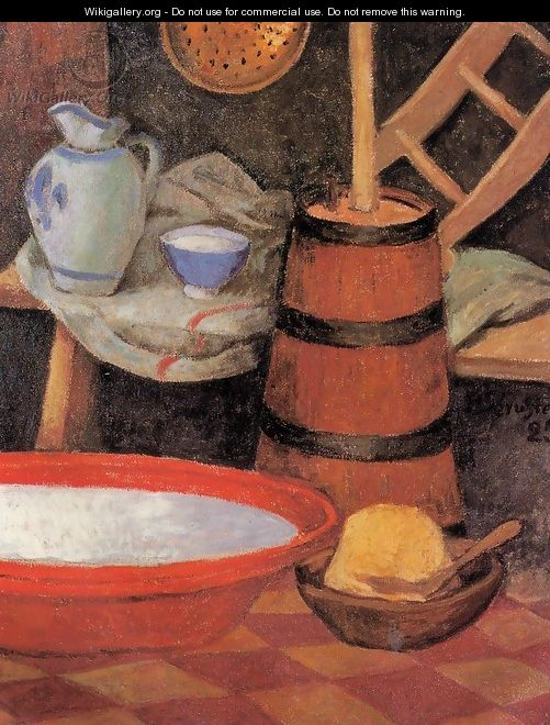 Still Life with Churn - Paul Serusier