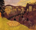 The Flock in the Black Forest - Paul Serusier