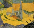 Yellow Farm at Pouldu - Paul Serusier