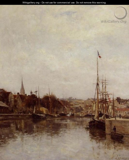 Caen, The Dock of Saint-Pierre - Stanislas Lepine