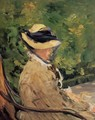 Madame Manet at Bellevue - Edouard Manet