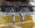 Baseball Players Practicing - Thomas Cowperthwait Eakins