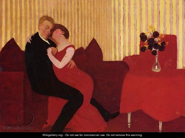 The Lie - Felix Edouard Vallotton