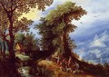 The Return from the Hunt - Jan The Elder Brueghel