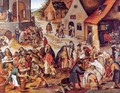 The Seven Acts of Charity - Pieter the Elder Bruegel