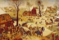 The Census at Bethlehem - Pieter the Elder Bruegel