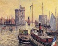 The Port of La Rochelle at Twilight - Maxime Maufra