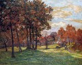 Autumn Landscape at Goulazon, Finistere - Maxime Maufra